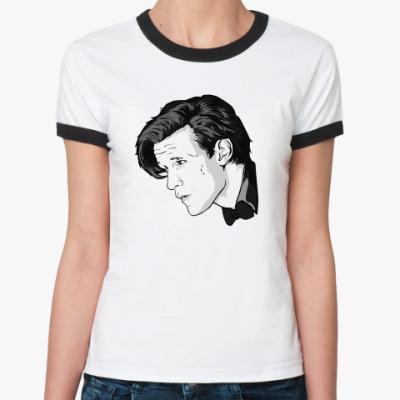 Женская футболка Ringer-T Doctor Who