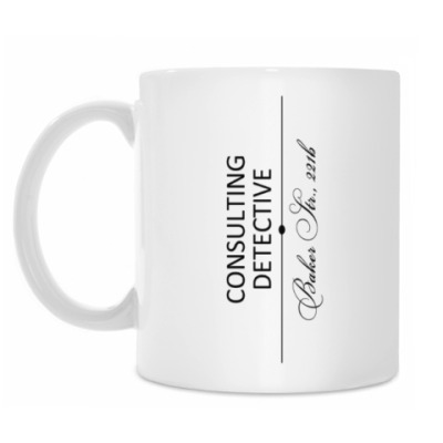 Кружка Consulting Detective