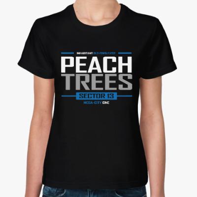 Женская футболка Пич Трис (Судья Дредд)