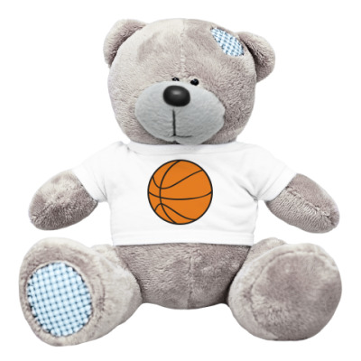 Плюшевый мишка Тедди Мишка Баскетбол