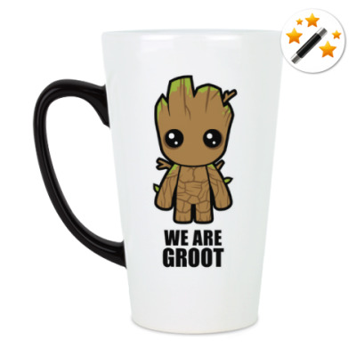 Кружка-хамелеон We are Groot