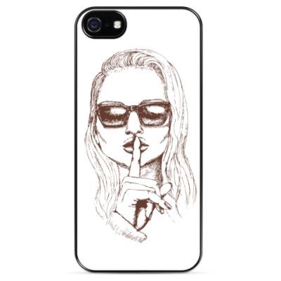 Чехол для iPhone Никому не говори!