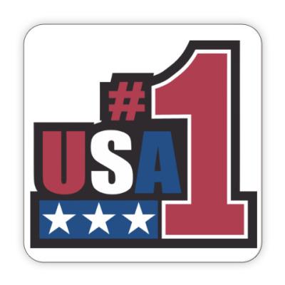 Костер (подставка под кружку) USA 1