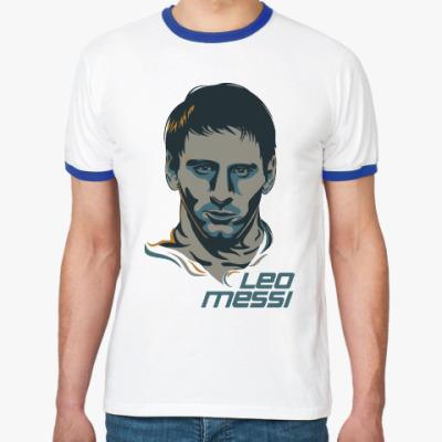 Футболка Ringer-T Leo Messi