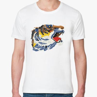 Футболка из органик-хлопка Тигр