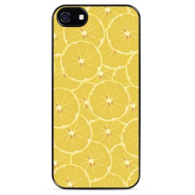 Чехол для iPhone Дольки лимона