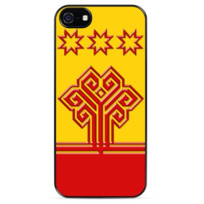 Чехол для iPhone Флаг Чувашии