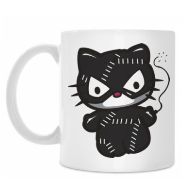 Кружка Китти Женщина-кошка