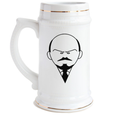 Пивная кружка Ленин