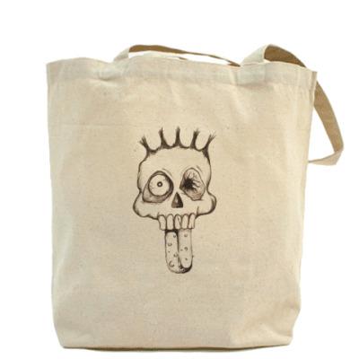 Холщовая сумка Scull Face