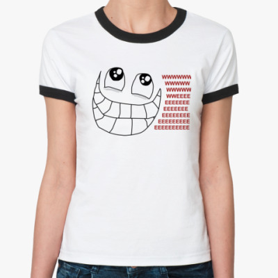 Женская футболка Ringer-T WWEEE