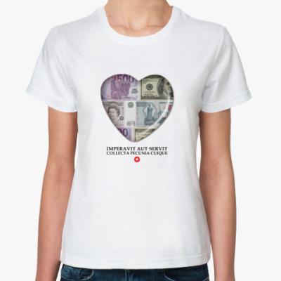 Классическая футболка Разумность