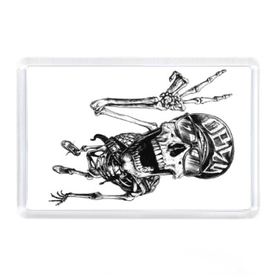 Магнит Thrash-скелет