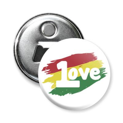 Магнит-открывашка 1 Love