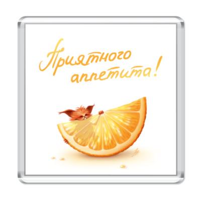 Магнит Апельсинка