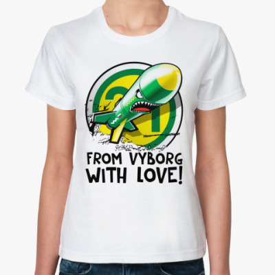 Классическая футболка FVWL!