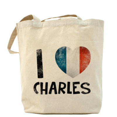 Сумка I LOVE CHARLES