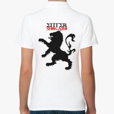 Женская рубашка поло Enter Shikari