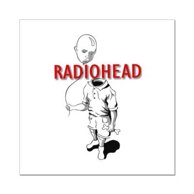 Наклейка (стикер) Radiohead