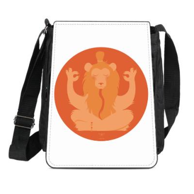 Сумка-планшет Animal Zen: L is for Lion
