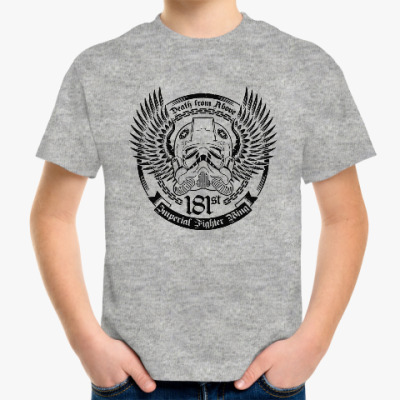 Детская футболка Black Squadron