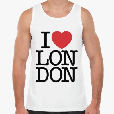 Майка Я Люблю Лондон