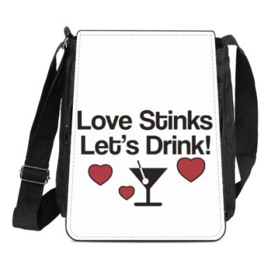 Сумка-планшет Love Stinks