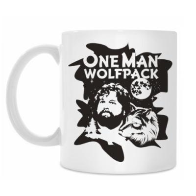 Кружка Wolfpack. Человек-волчья стая.