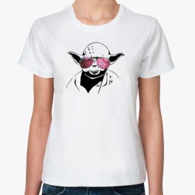 Классическая футболка Йода просто космос