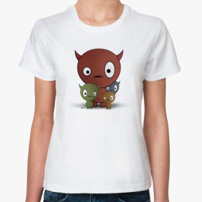 Классическая футболка Чертики