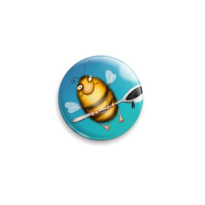 Значок 25мм  Пчела