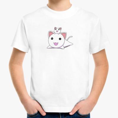 Детская футболка Комплект 'мама плюс я' Cats