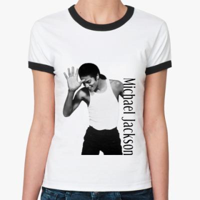 Женская футболка Ringer-T MJ