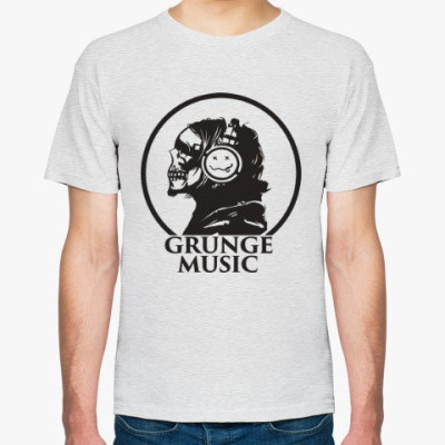 Футболка Grunge music