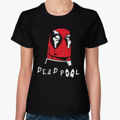 Женская футболка Deadpool