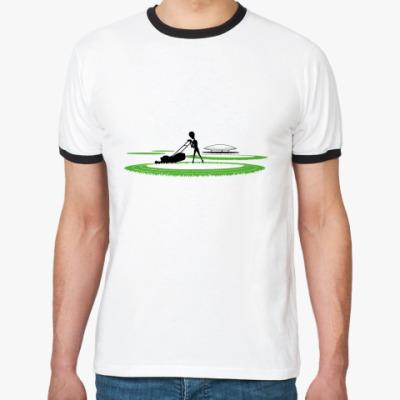Футболка Ringer-T Круги на полях