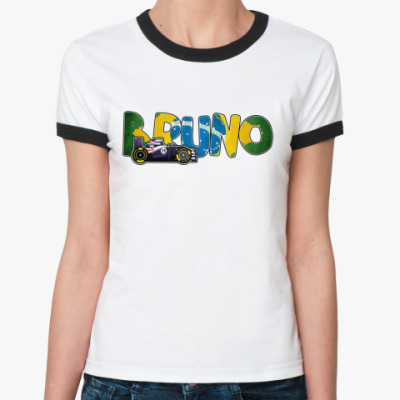 Женская футболка Ringer-T BRUNO