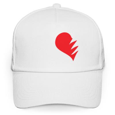 Кепка бейсболка Половинка сердца