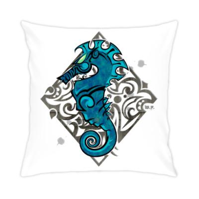 Подушка Морской Конь