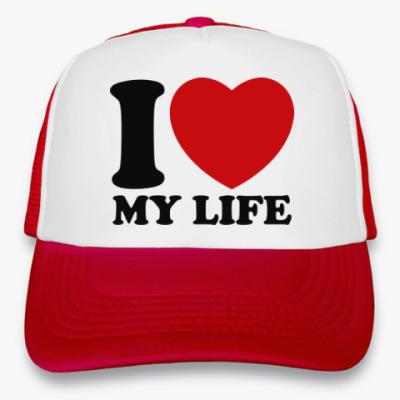 Кепка-тракер Люблю свою жизнь