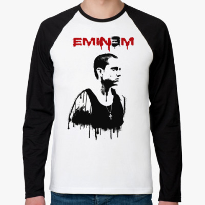 Футболка реглан с длинным рукавом Eminem graffity
