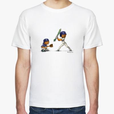 Футболка Тыква Бейсбол