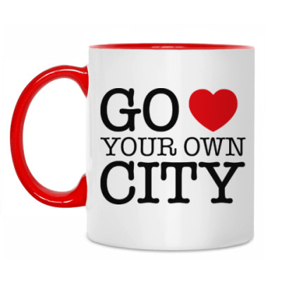 Кружка Love your own city