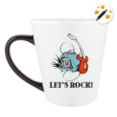 Кружка-хамелеон Let's Rock!