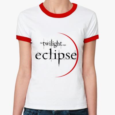 Женская футболка Ringer-T Eclipse