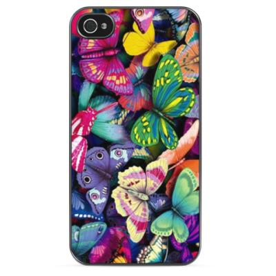 Чехол для iPhone 'Бабочки'