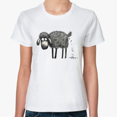 Классическая футболка Овца