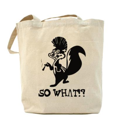 Сумка So What!? Холщовая сумка