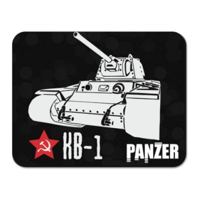 Коврик для мыши Советский тяжёлый танк КВ-1