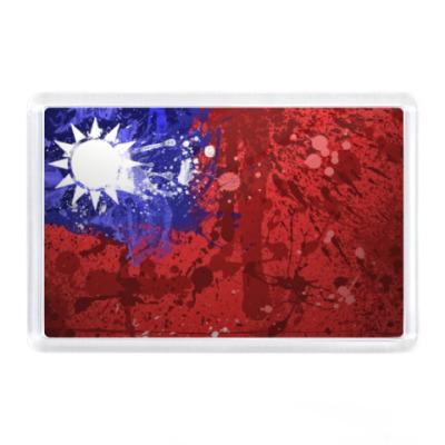 Магнит Флаг Тайваня